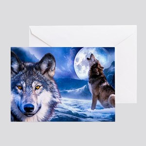 Wolf decor Greeting Card