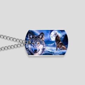 Wolf decor Dog Tags