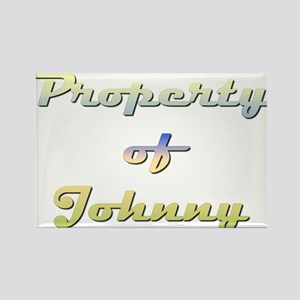 Property Of Johnny Female Magnets