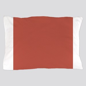 Red Green Tiny Quatre Foil Pattern Pillow Case