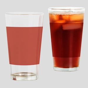 Red Green Tiny Quatre Foil Pattern Drinking Glass