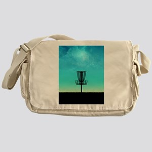 Disc Golf Basket Messenger Bag