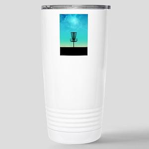 Disc Golf Basket Travel Mug