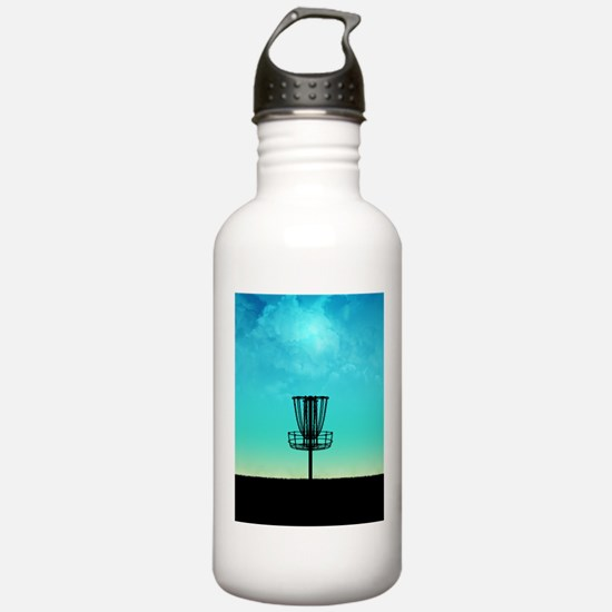 Disc Golf Basket Water Bottle