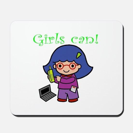 Girl Computer Professional Mousepad