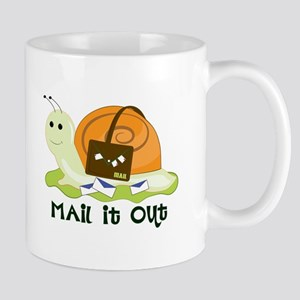 Mail It Out Mugs