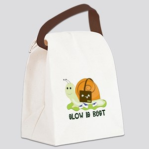 Slow is Best Canvas Lunch Bag