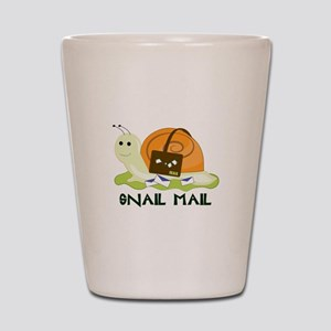 Snail Mail Shot Glass