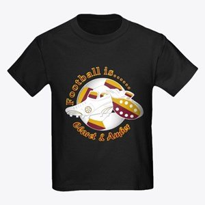 Football Colors Claret and Amber T-Shirt