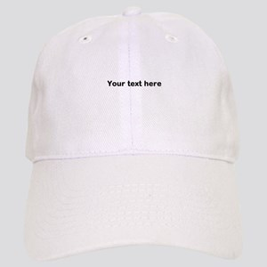 Template Your Text Here Baseball Cap