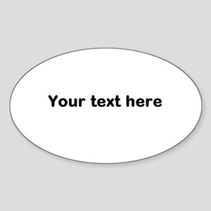 Template Your Text Here Sticker