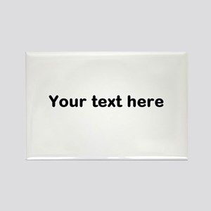 Template Your Text Here Magnets