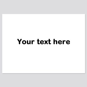 Template Your Text Here Invitations