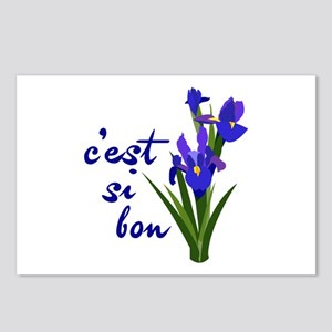 Cest Si Bon Postcards (Package of 8)