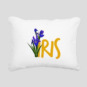 Iris Rectangular Canvas Pillow