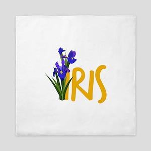 Iris Queen Duvet