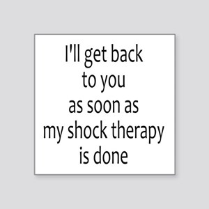 Shock Therapy Sticker