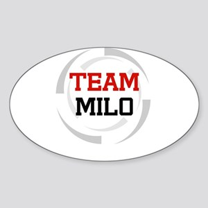 Milo Oval Sticker