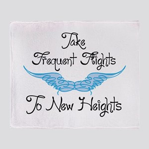 To New Heights Throw Blanket