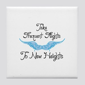 To New Heights Tile Coaster