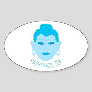 Everythings Zen Sticker
