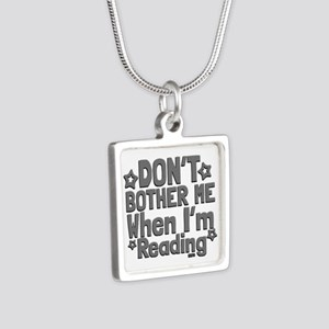 Reading Don't Bother Me Necklaces