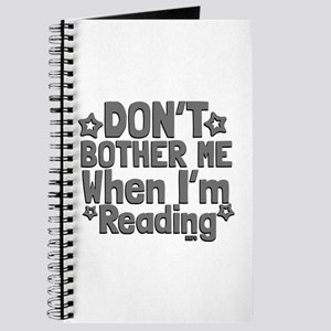 Reading Don't Bother Me Journal