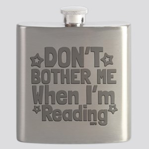 Reading Don't Bother Me Flask