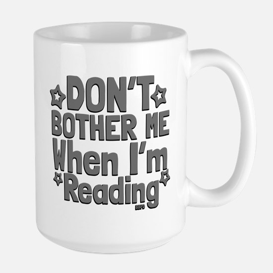 Reading Don't Bother Me Mugs