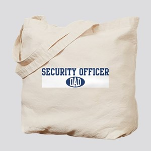 Security Officer dad Tote Bag