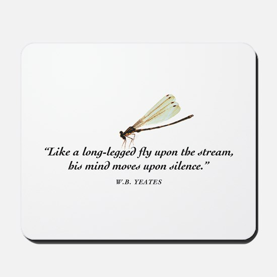 A fly upon the water Mousepad
