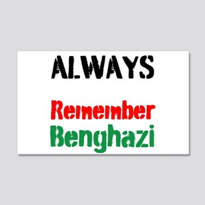 Always Remember Benghazi Wall Decal