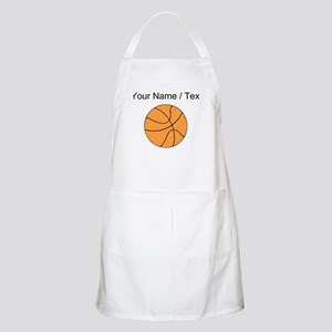 Custom Orange Basketball Apron