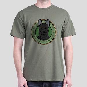 Love My GSD Dark T-Shirt