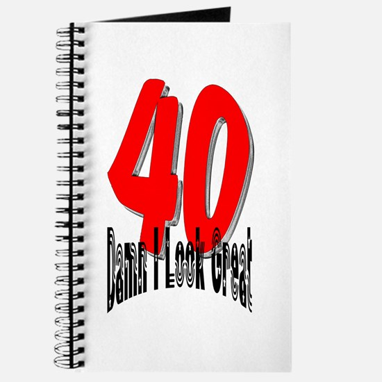 40th Birthday | Damn I Look G Journal