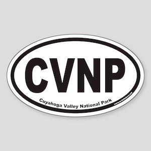 Cuyahoga Valley National Park CVNP Oval Sticker