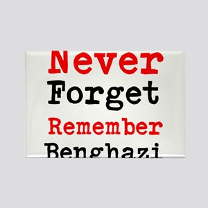 Never Forget Remember Benghazi Magnets