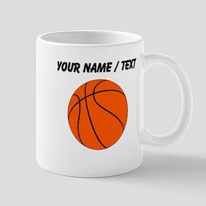 Custom Orange Basketball Mugs