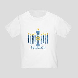 Hanukkah 1st Birthday Toddler T-Shirt