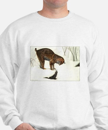 Bobcat Art Sweatshirt