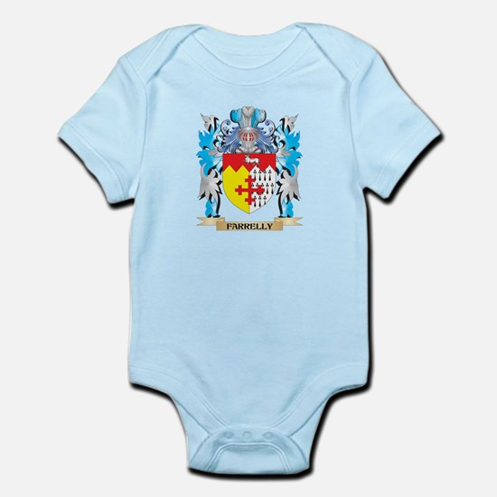 Farrelly Coat of Arms - Family Crest Body Suit