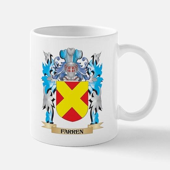 Farren Coat of Arms - Family Crest Mugs