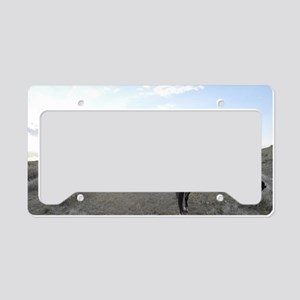 Cowgirl License Plate Holder
