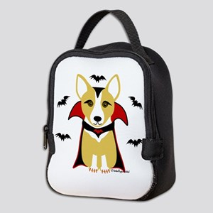 Draculacorgi3i Neoprene Lunch Bag