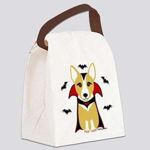 draculacorgi3i Canvas Lunch Bag