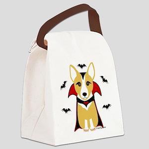 draculacorgi3i Canvas Lunch Bag