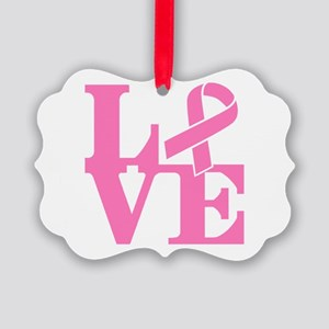 LOVE and Support Ornament