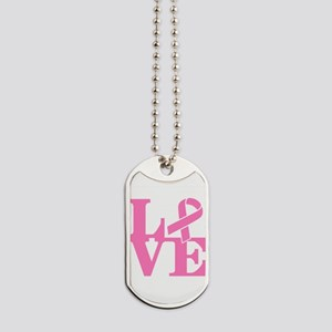LOVE and Support Dog Tags