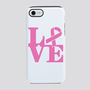LOVE and Support iPhone 7 Tough Case