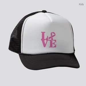 LOVE and Support Kids Trucker hat